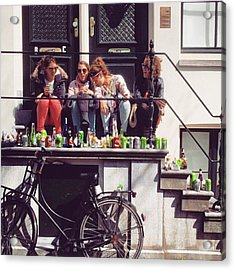 Amsterdammer Ladies II 🌷 #ladies Acrylic Print