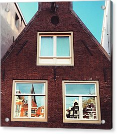 Amsterdammer Windows II #architecture Acrylic Print