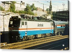 Amtrak Aem-7 Acrylic Print