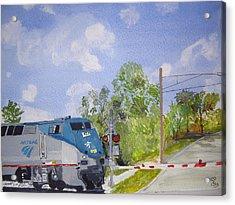 Amtrak Acrylic Print