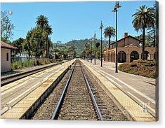 Amtrak Station, Santa Barbara, California Acrylic Print