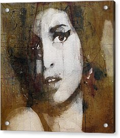 Amy Winehouse Love Is A Losing Game  Acrylic Print