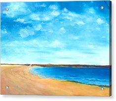 Amy's Vacation Acrylic Print by Dana Redfern