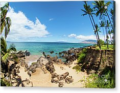 Acrylic Print featuring the photograph Amzing Beach In Hawaii Islands by Micah May