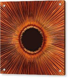 An Abstract Hole Acrylic Print by Sven Hagolani