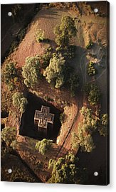 An Aerial View Of Beta Acrylic Print by James P. Blair