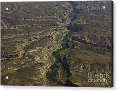 An Afghan Valley Acrylic Print by Tim Grams