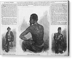 An African American Runaway Slave Named Acrylic Print by Everett