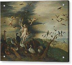 An Allegory Of Air Acrylic Print by Jan Brueghel the Elder