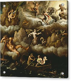 An Allegory Of Immortality Acrylic Print