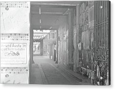 An Alley To A Backstreet Acrylic Print