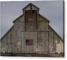An American Barn Acrylic Print