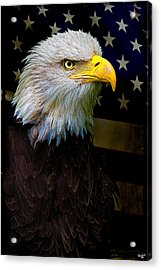 An American Icon Acrylic Print by Chris Lord