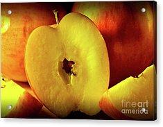 An Apple A Day Acrylic Print by Brian Roscorla