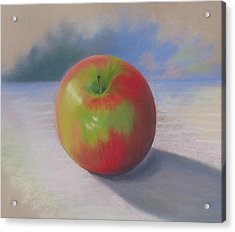 An Apple A Day Acrylic Print by Shirley Galbrecht