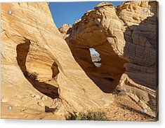 An Arch And A Window Acrylic Print by Tim Grams