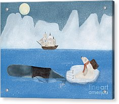 Acrylic Print featuring the painting An Arctic Adventure by Bri B