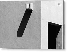An Artists Dilemma Acrylic Print