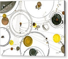 An Astronomical Misunderstanding Acrylic Print