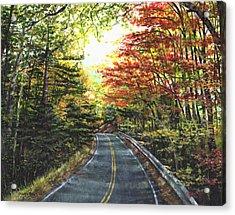 An Autumn Day Acrylic Print by Shana Rowe Jackson