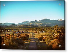 An Autumn Evening In Pagosa Meadows Acrylic Print