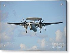 An E-2 Hawkeye  Acrylic Print