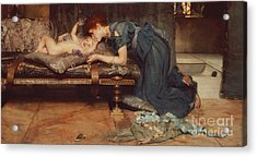 An Earthly Paradise Acrylic Print by Sir Lawrence Alma-Tadema