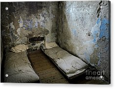 Acrylic Print featuring the photograph An Empty Cell In Cork City Gaol by RicardMN Photography