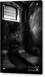 An Empty Cell In Old Cork City Gaol Acrylic Print by RicardMN Photography