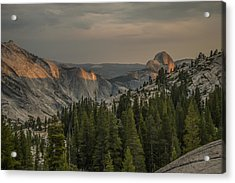 An Evening At Olmstead Point - Pt 3 Acrylic Print