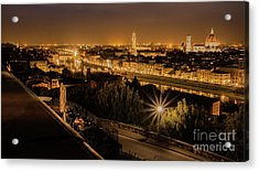 An Evening In Florence Acrylic Print