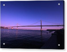 An Evening In San Francisco  Acrylic Print