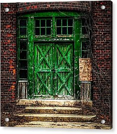 An Example Of Urban Decay Photography Acrylic Print