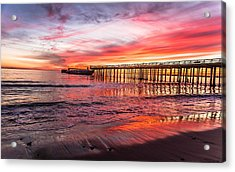 Seacliff Sunset Acrylic Print