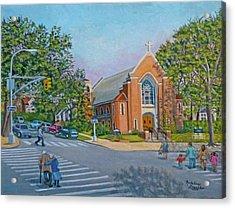 An Historical Church Acrylic Print