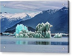 An Iceberg In The Inside Passage Of Alaska Acrylic Print