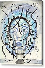 An Idea Acrylic Print by Darren Cannell