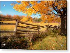 An Ideal Autumn Acrylic Print