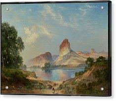 An Indian Paradise , Green River, Wyoming Acrylic Print