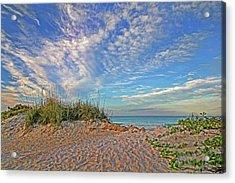 An Invitation - Florida Seascape Acrylic Print