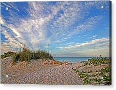 An Invitation - Florida Seascape Acrylic Print by HH Photography of Florida
