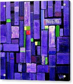 An Iris For The Master Acrylic Print