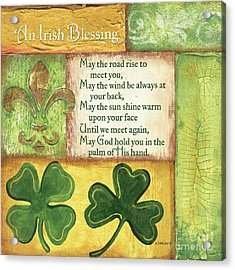 An Irish Blessing Acrylic Print