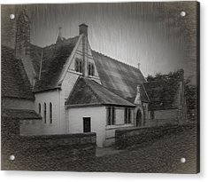 An Irish Church Acrylic Print by Dave Luebbert