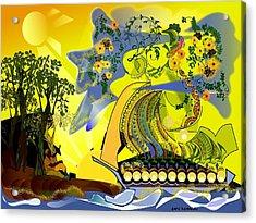 An Island Dream Acrylic Print by Gary Kennedy