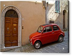 An Italian Classic Acrylic Print by Roger Mullenhour