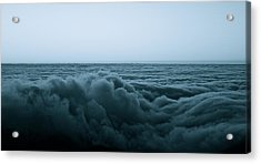 An Ocean Of Clouds Acrylic Print by Tracey Myers