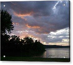 An Ohio River Valley Sunrise Acrylic Print