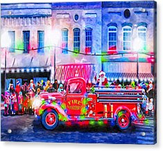 An Old Fashioned Christmas Acrylic Print