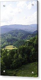 An Old Shack Hidden Away In The Blue Ridge Mountains Acrylic Print